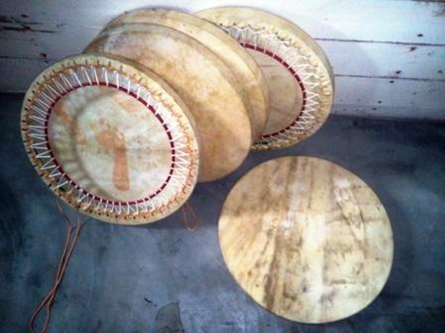 Lot 5 tambours malbars