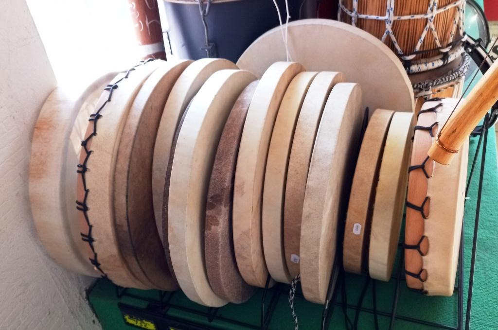 Tambours malbars, tambours chamaniques