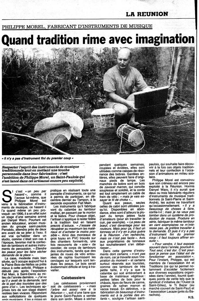 Interview st paul le QUOTIDIEN 1992