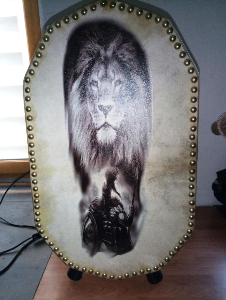 Lampe lion