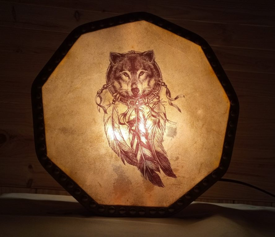 Lampe loup 9