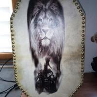 Lampe lion 2