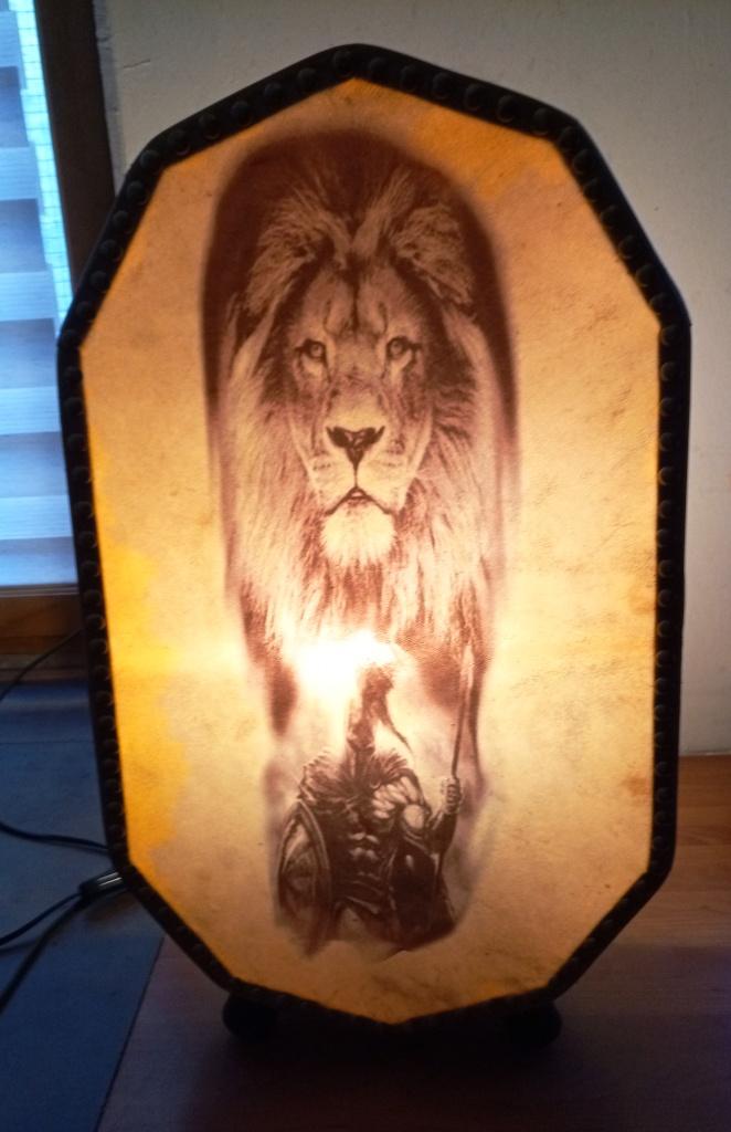 Lampe lion 3