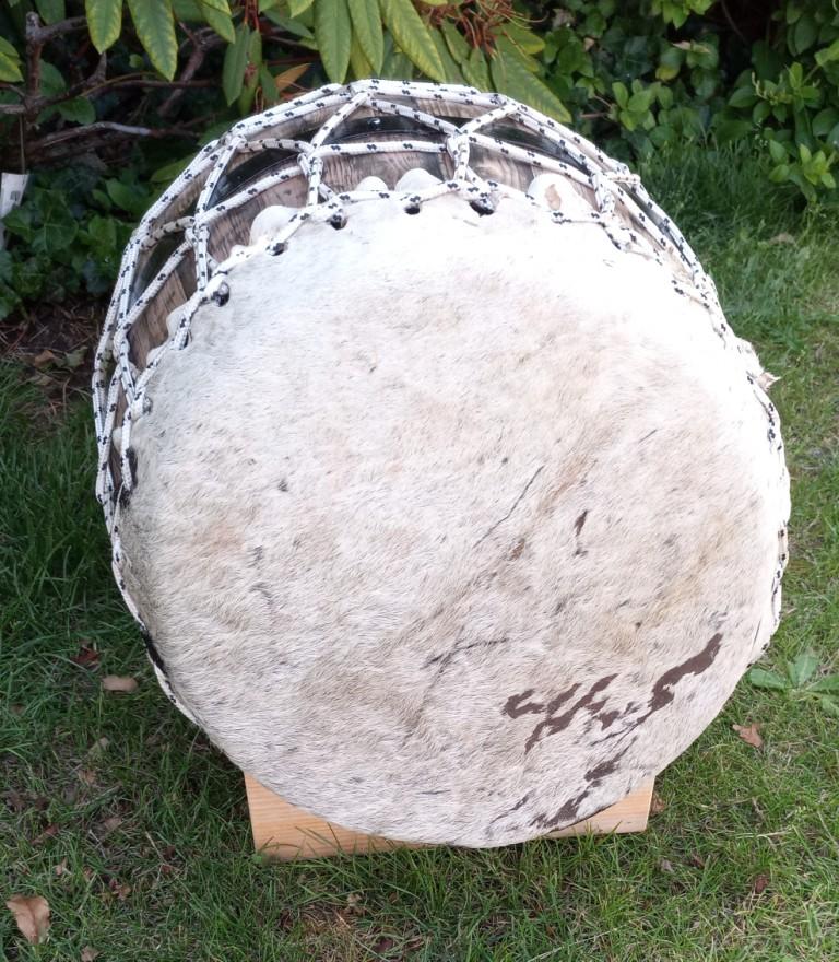 Rouler moyen 37 cm peau boeuf poils 4