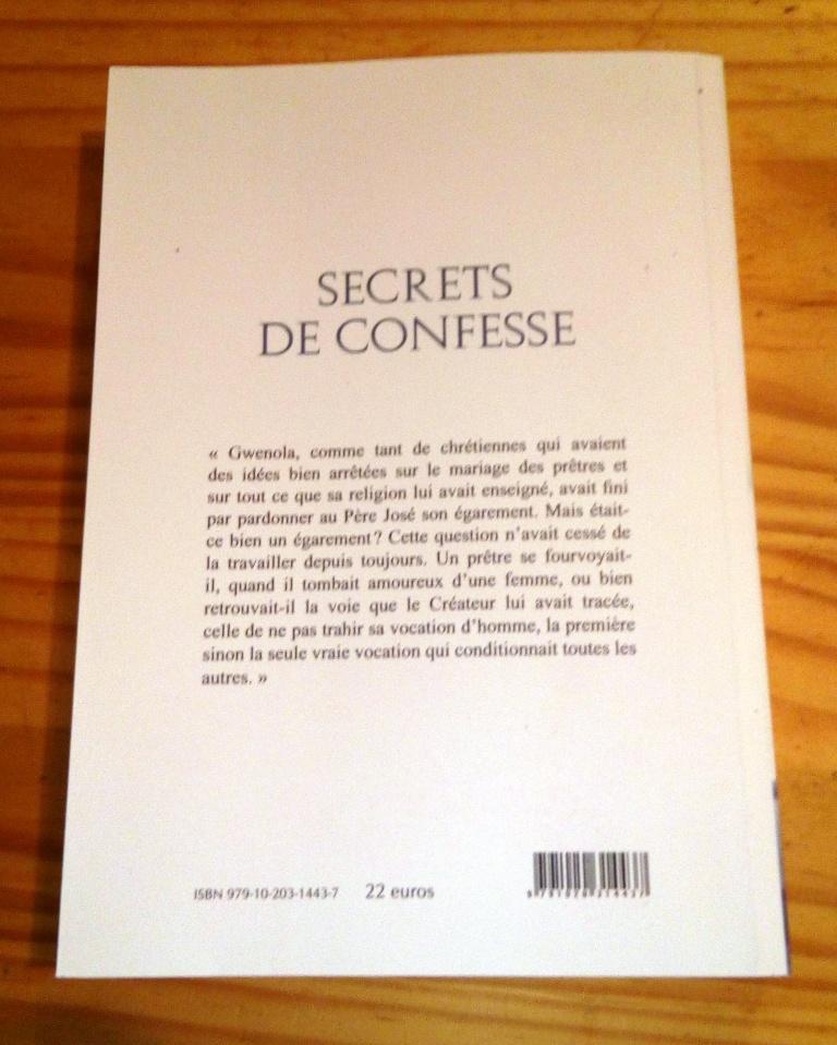 Secret de confesse dos