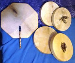 Notre album : les tambours chamaniques