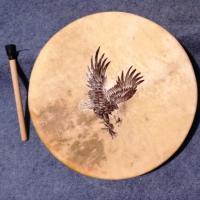 Tamb chaman aigle plongeant 9 193